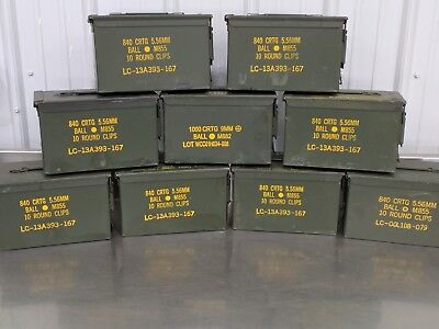 Grade 1  50 cal empty ammo can