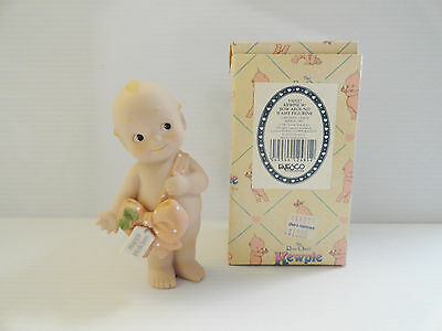 Enesco Kewpie Rose O'Neill With Bow Around Waist Figurine 530557 Jesco 1993