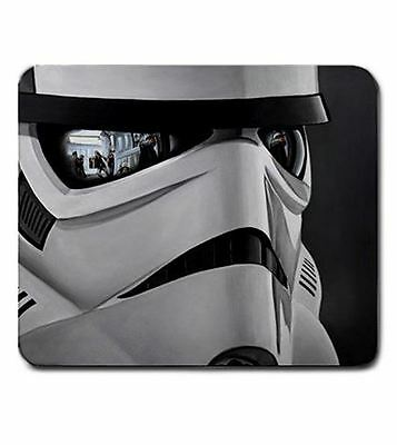 """7.5"""" x 9"""" Storm Trooper Star Wars Mouse Pad Gaming Office Work US Seller"""