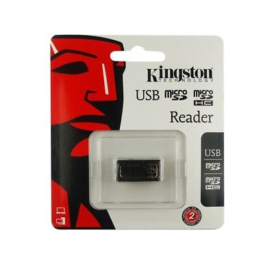 Kingston MRG2 Micro SD SDHC SDXC TF USB Flash Drive Memory Card Reader Keychain