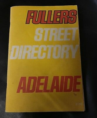 Old Fullers Street Directory Adelaide 1973