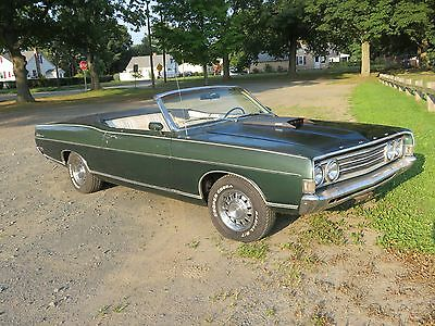 1969 Ford Fairlane  1969 Ford Fairlane 500 Convertible