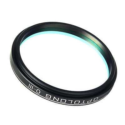"""OPTOLONG 2"""" 25nm O-III Filters for Telescope 2-inch Eyepiece Cut Light Pollution"""