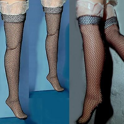 Tonner Kitty Collier Fashion doll Black stockings lace garter. Esquisite