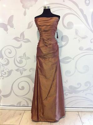 Silk Long Bridemaid, Evening Dress or Formal Gown Reduced from $385.00 ( E-232)