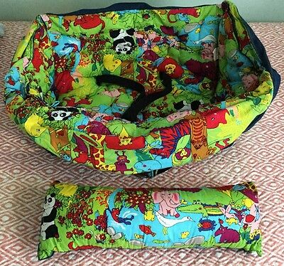 Buggy Bagg Elite Baby Shopping Cart Cover & Diaper Carrier Jungle Animal Print