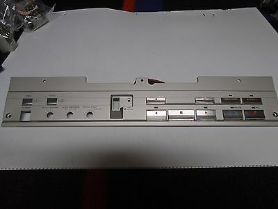 Teac X-2000R Reel To Reel Panel Assy Control S P/N 5800545000 Used