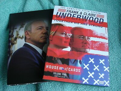 House of Cards - DVD Die komplette Staffel/Season 5, Regio-Code 1, 1x gebraucht
