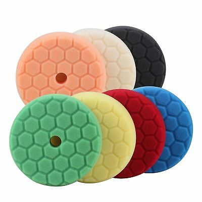 6inch (150mm) Mix Color Light Cut ,Heavy Cut,And Finish Buffing Polishing Pads