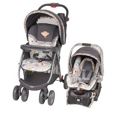 Baby Stroller and Car Seat Combo Travel Infant Safety Trend New Free Shipping