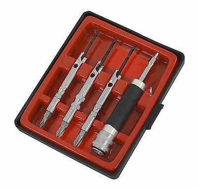 6 in 1 Drill Bit & Screwdriver Driver Set - Quick Release