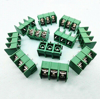 PCB Terminal Block Screw Connector MG/DG/KF7.62-2/3/4Way Pitch 7.6mm 300V 20A TS