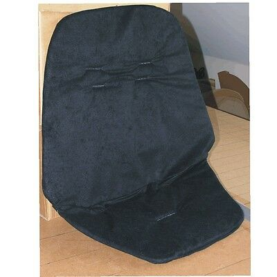 Hand Tailored Seat Liner for Quinny Buzz pushchairs - Black