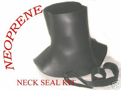 SCUBA DIVING DRY SUIT NEOPRENE NECK SEAL made 2 measure