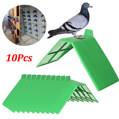 10Pcs Perches V Pigeon Bird Dove Pet Racing Rest Stand Roost Frame Dwelling Kits