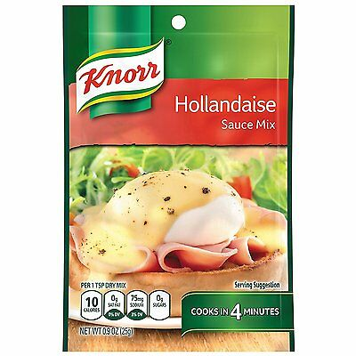*BACK IN STOCK* 4x KNORR Garde d'Or HOLLANDAISE Sauce Mix 25Gram *Free Postage*