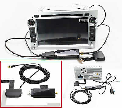 Digital DAB+ Radio Tuner Receiver Stick + Antenna For Car Android DVD Stereo