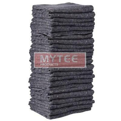 """Moving Pads / Filler Pads 72"""" x 80"""" 12 Pcs Pack Skin Moving Blankets"""
