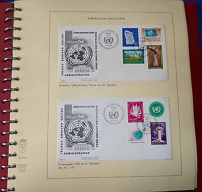 Collection of United Nations First Day Covers