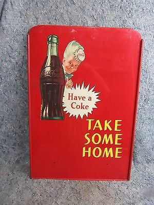 Coca-cola sign With Bottle Sprite Boy Take Some Home Super Nice Condition