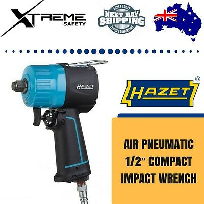 HAZET Compact Impact Wrench Extra Short 1400Nm Air Pneumatic 1/2″