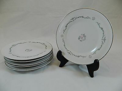 Signature Collection Petite Bouquet China Small Dessert/Pie Plate Lot of 6 EUC!