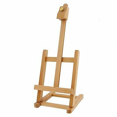 Beech Wood Mini Artist's Painting & Display Table Easel 43 x 16 cm