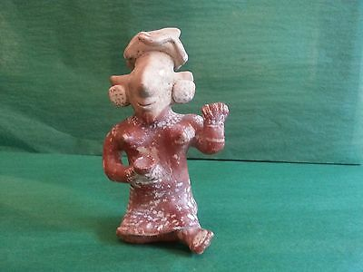 "Pre-Columbian Jalisco ""Sheep-face"" Female Figure"