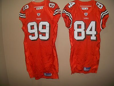 Cleveland Browns  Game Used Worn   Nfl Football Jersey