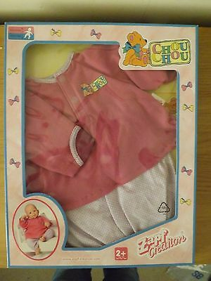 "Zapf Creation Baby Chou Chou dolls clothes (17-19"" doll) BNIP"