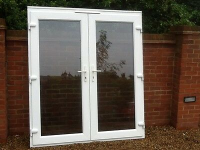 Upvc glass foor picclick uk for External french doors and frame