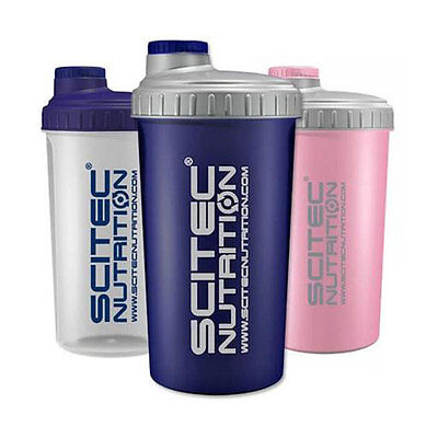 Scitec Nutrition Shaker 700ml, Protein-Mixer, Whey Pulver Shaker Eiweiss Shaker