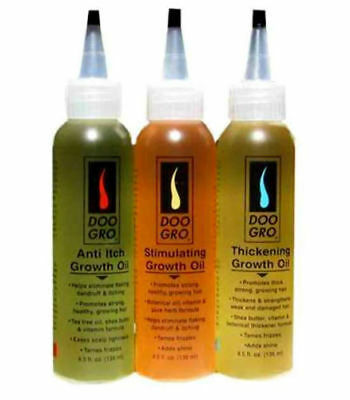 Doo Gro Hair Oil For Hair Loss, Growth, Breakage, Dandruff & Itching (3 Types)