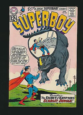 Superboy #102, VF, Newly Acquired Collection