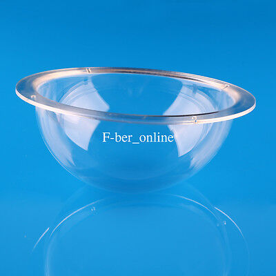 6 Inch Outdoor / Indoor Clear Acrylic Camera Replacement Dome Housing Cover CCTV