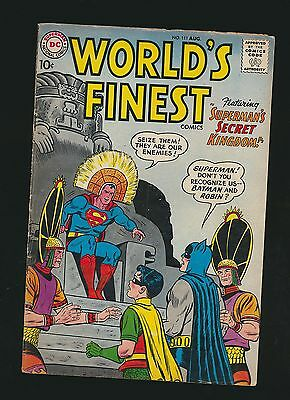 World's Finest #111, VG/Fine, Newly Acquired Collection