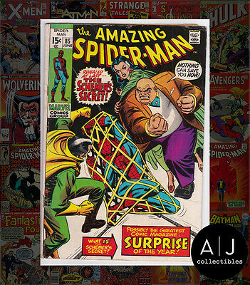 The Amazing Spider-Man #85 (X| Marvel |X) VG! HIGH RES SCANS!