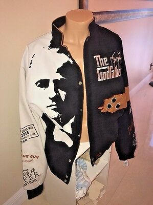 Godfather Don Corleone Rare  Jeff Hamilton Designs Jacket Mens 2Xl New With Tags