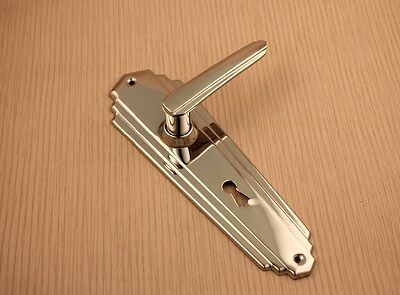 Art Deco Style Chrome door handles