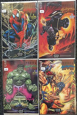 Marvel Masterpieces by Marvel Comics -  Set of 7