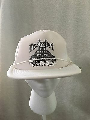 Mississippi Fudge Factory Dubuque Iowa Snapback Trucker Mesh Cap Hat