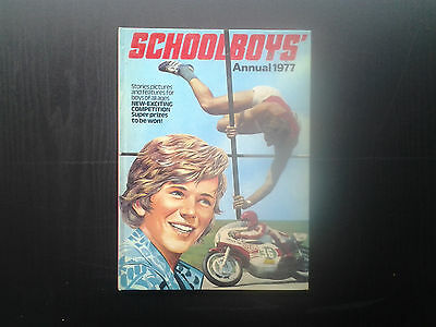 Schoolboys Annual 1977. (British). Hardback, gc.