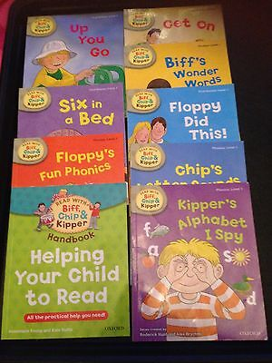 Level 1 Read with Biff, Chip and Kipper Phonics Books Oxford
