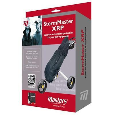 StormMaster XRP Rain Cape Black Golf Accessories Golf bag