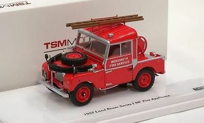 1957 Land Rover Series I 88 in 1:43 Scale  Fire Appliance Model TSM144324
