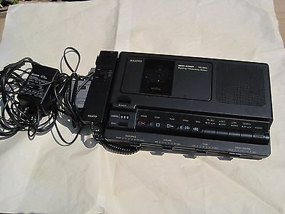 SANYO MEMO-SCRIBER Model TRC 8800 Standard Cassette *Read Description*