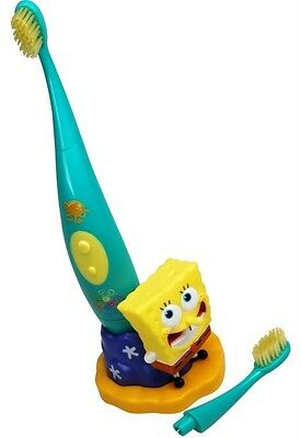 Brand New Boxed Sonic Electric Kid's Toothbrush * Spongebob Squarepants *
