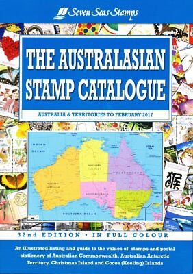 AUSTRALISIAN STAMP CATALOGUE 32nd Edition Vol 1 - 2017