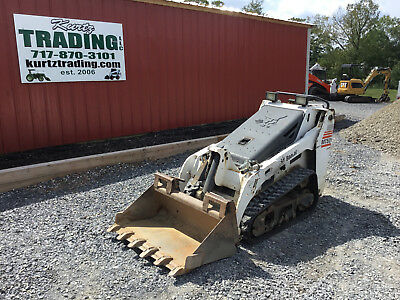 2008 Bobcat MT52 Tracked Skid Steer Loader!