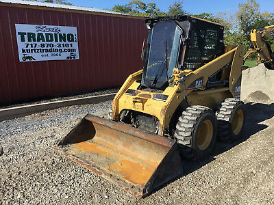 2006 Caterpillar 248B Skid Steer Loader W/ Cab & High Flow!